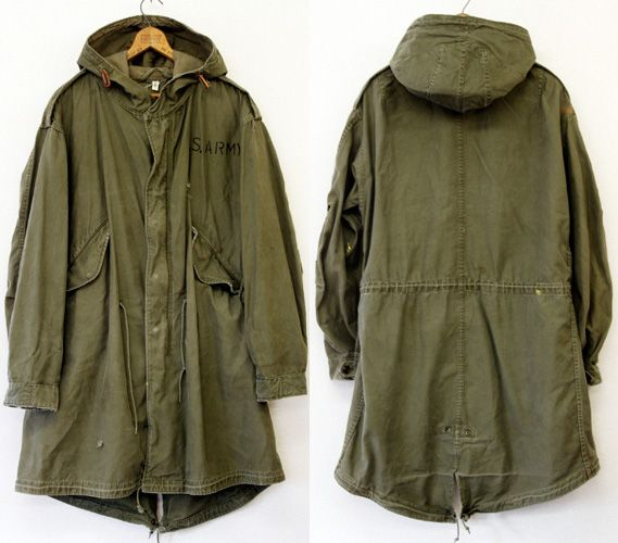 Comme des Garcons Junya Watanabe MAN | M-51 fishtail parka | Army ...