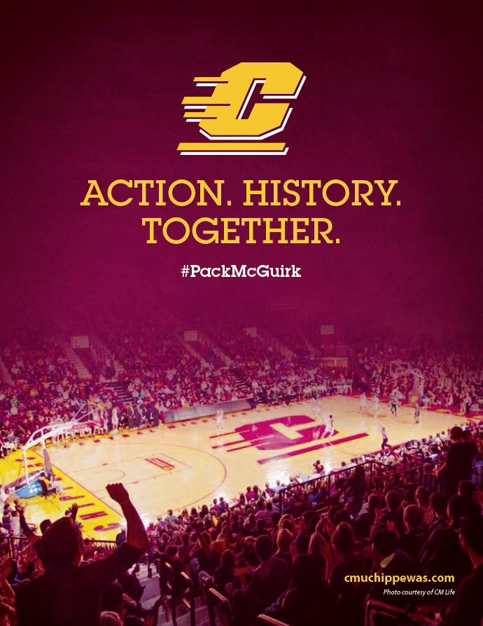 2014 2015 Men S Basketball Packmcguirk Central Michigan University Central Michigan Athletics Central Central Michigan University Central Michigan Michigan