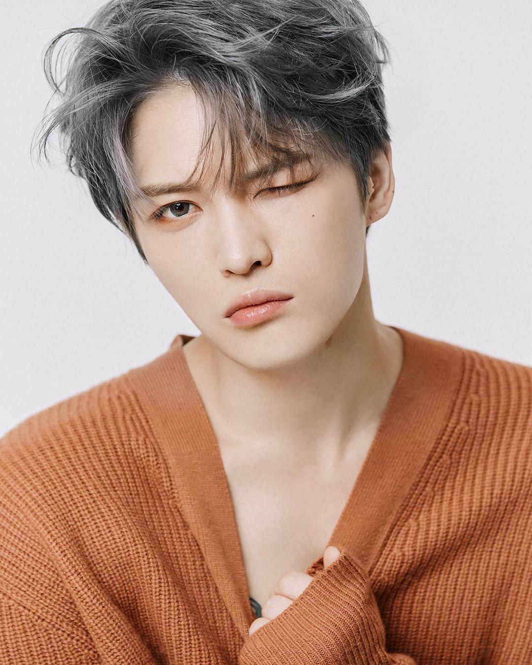 Sns 181127 Eskey Choi Update With Jaejoong Jaejoong Kim Jae Joong Kpop Hair