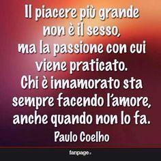 passione e amore frasi