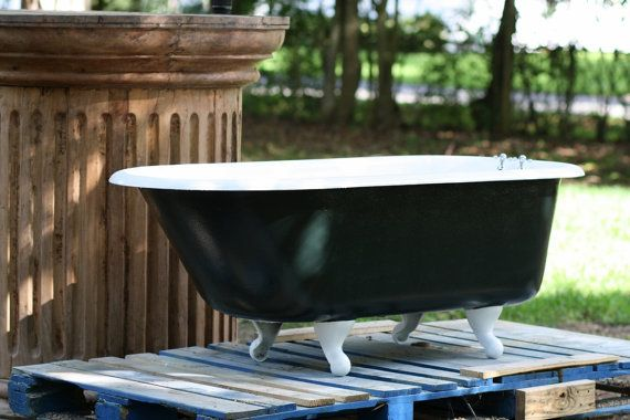 1939 Kohler 5 Foot Roll Rim Cast Iron Clawfoot Tub In White And
