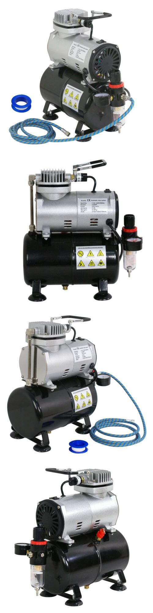 Details about Airbrush Air Tank Compressor Regulator