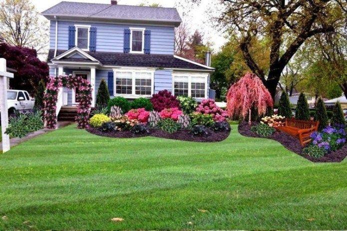 40 Lovely Roses at Frontyard and Backyard Ideas #kleinevorgärten