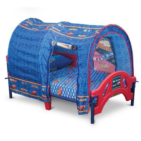 Delta Cars Toddler Tent Bed  sc 1 st  Pinterest & Delta Cars Toddler Tent Bed | James Room | Pinterest | Toddler ...