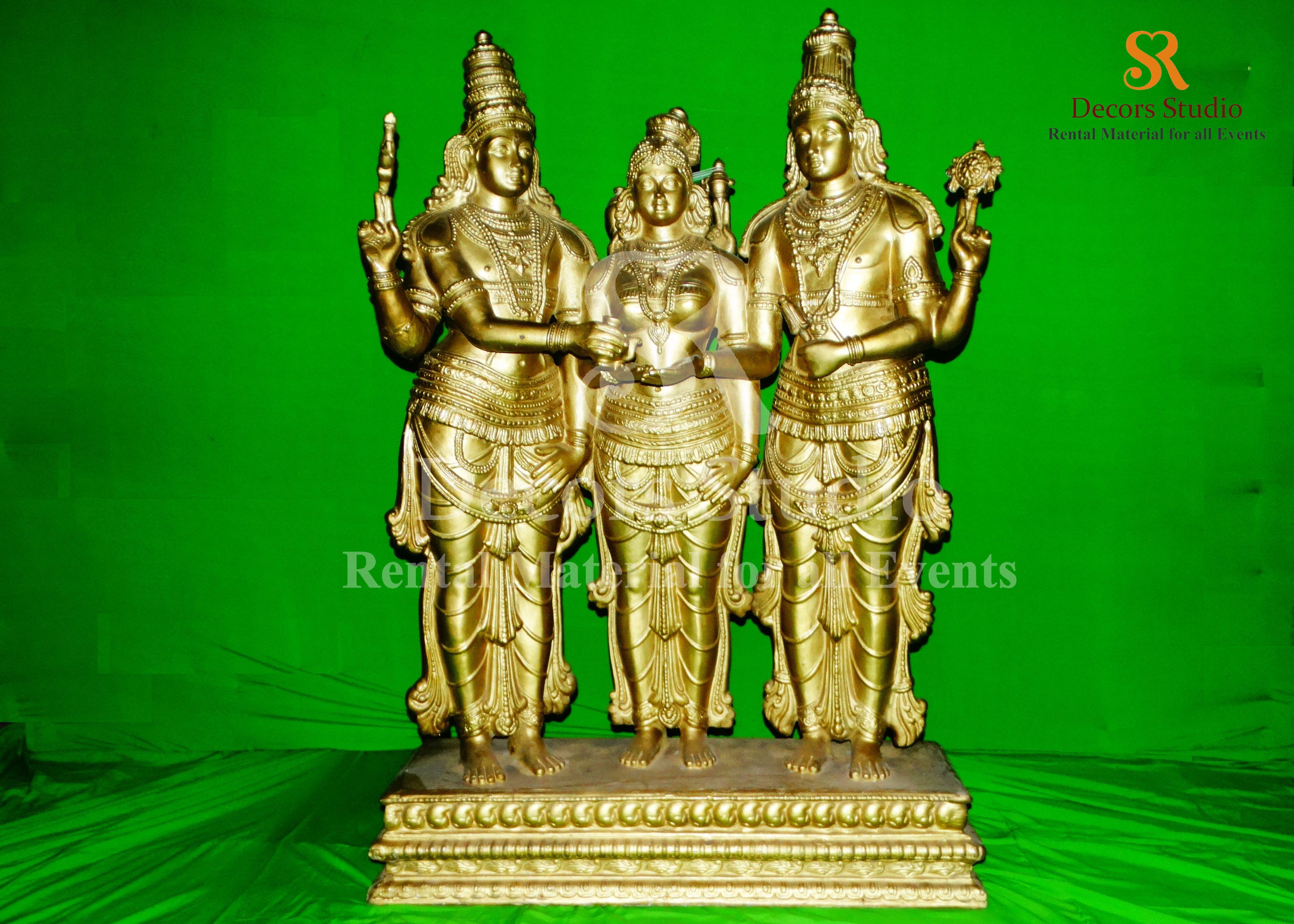 Meenakshi Thiru Kalyanam Statue For Rent Sr Decors Studio Rental Services Statue Studio Rental Studio
