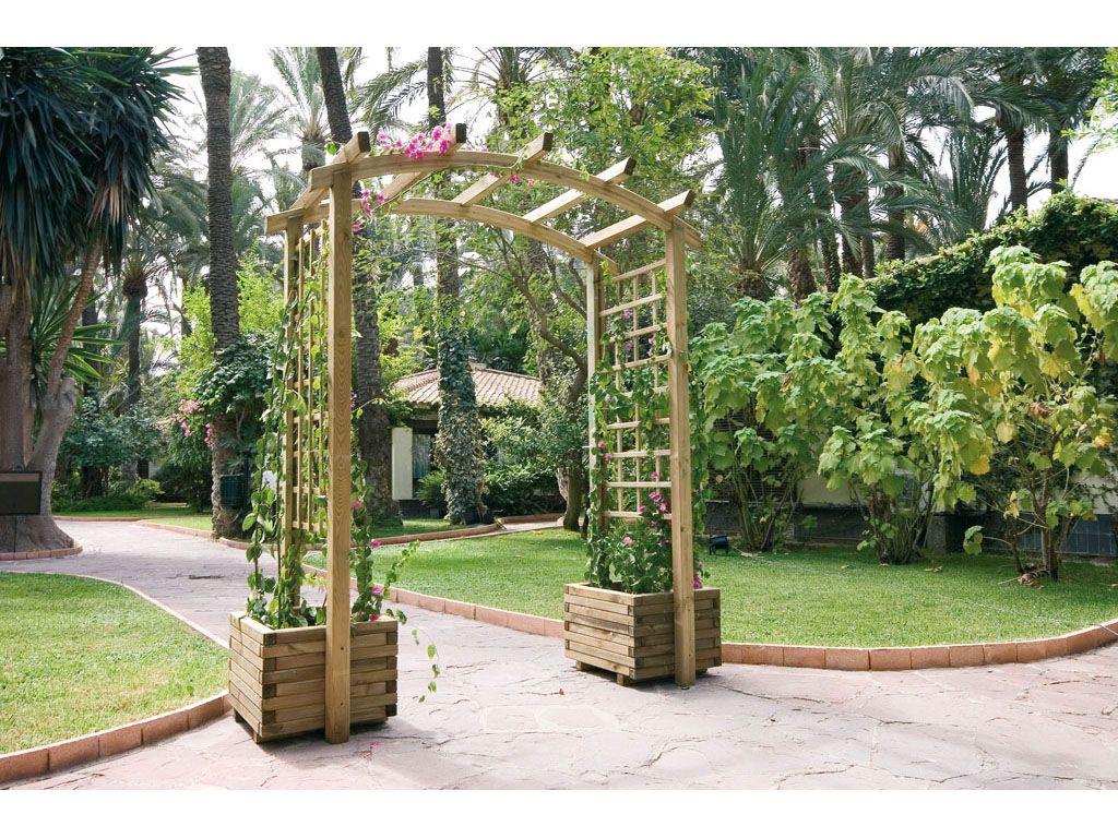 Utiliza las jardineras para organizar rincones en el - Jardineras de exterior ...
