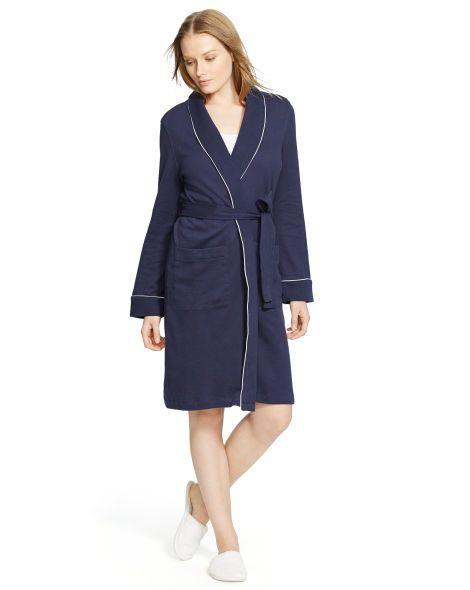 2e6e0b071d Short Shawl-Collar Robe - Lauren Sleepwear & Robes - RalphLauren.com ...