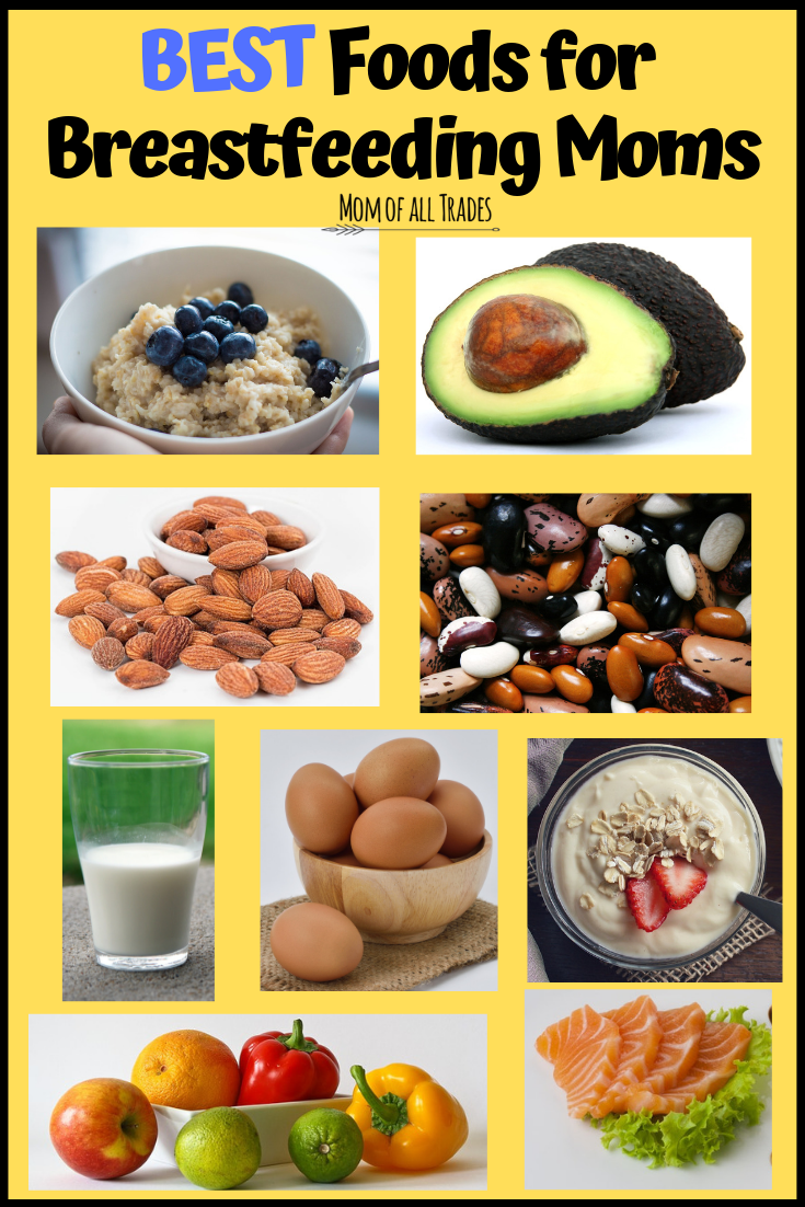 Best Foods To Eat When Breastfeeding Welcome
