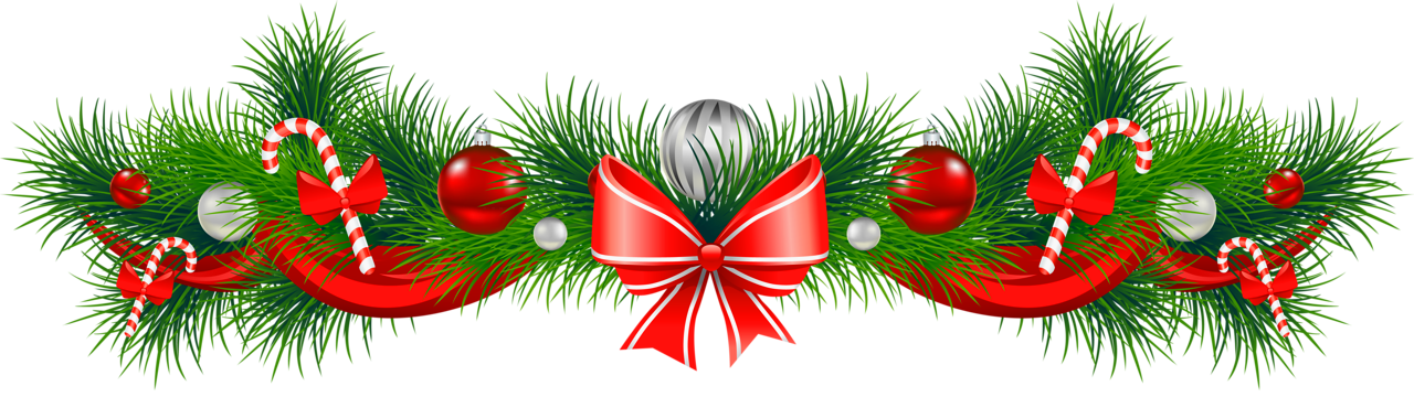Christmas Horizontal Seamless Background Vector Eps 10 Stock Vector 24504259 Garland Decor Christmas Border Holiday Garlands