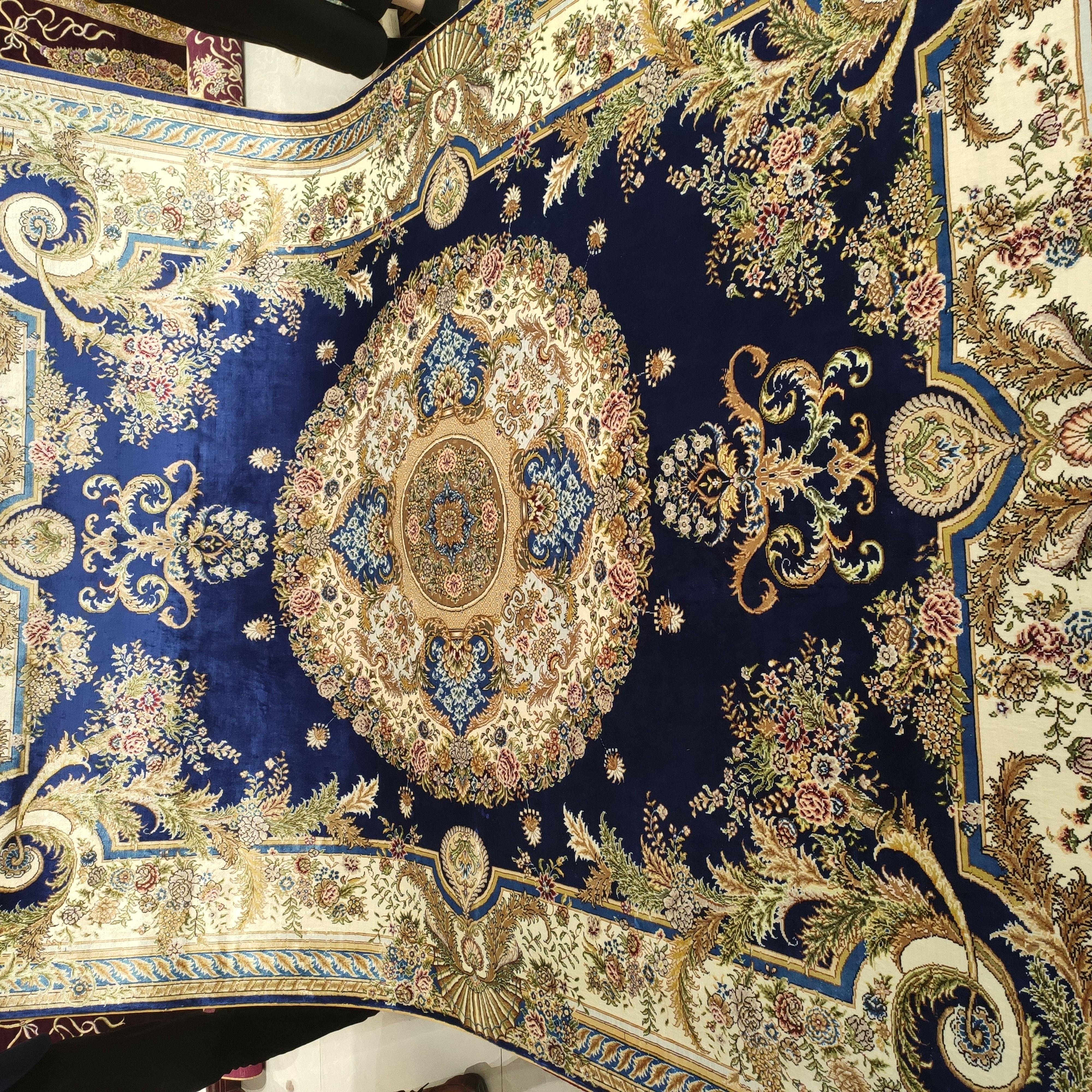 5x7ft Persian Design Silk Handmade Carpets Rugs Persiancarpets Silkcarpetsfactory Handmadecarpet Handmade Silk Rugs On Carpet Carpet Handmade Silk Carpet