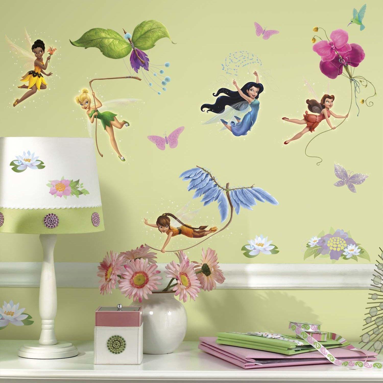 Disney Fairies Wall Decal   monkey bedroom ideas   Pinterest ...