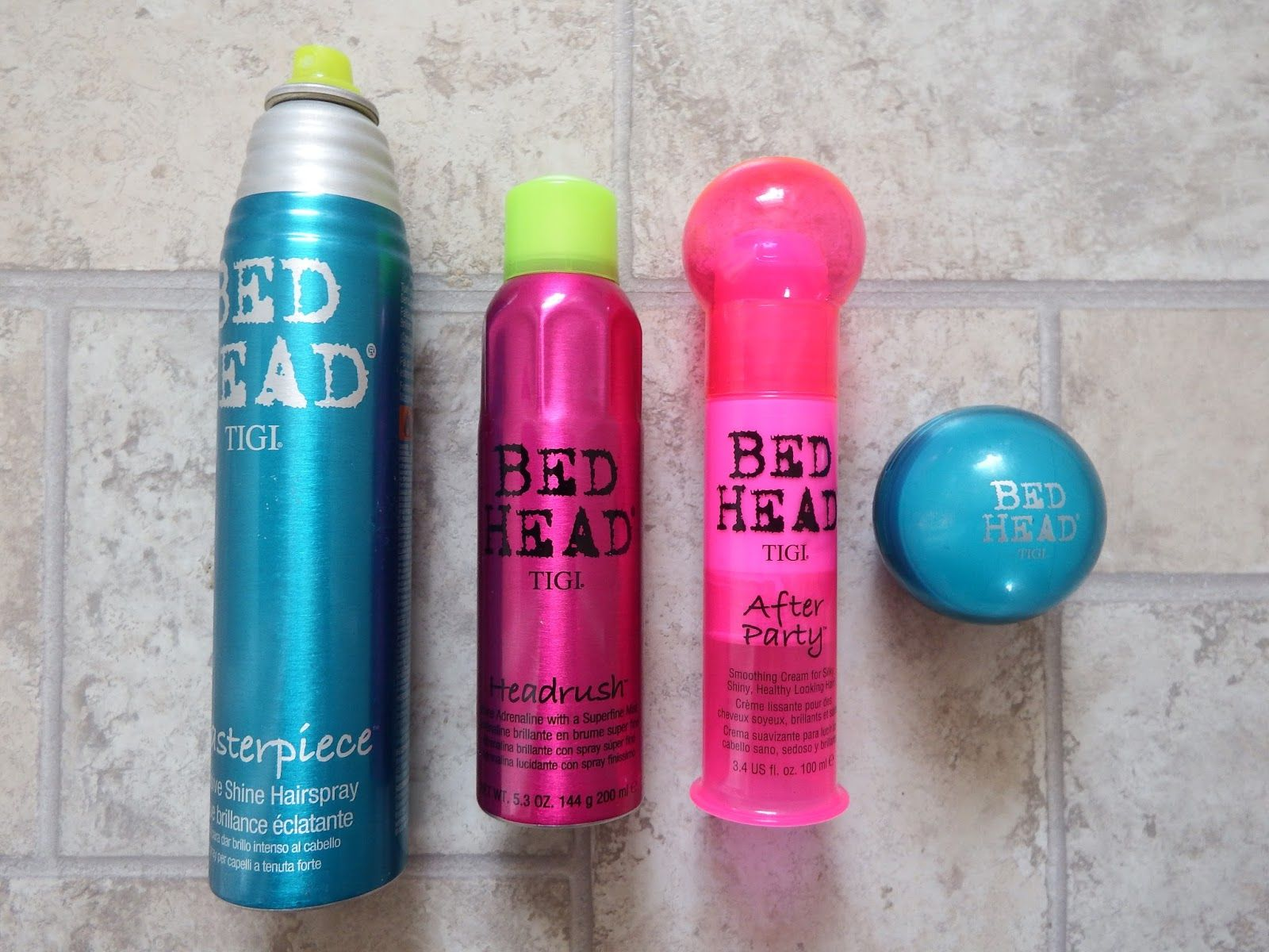 My Review Of The Tigi Bed Head Headrush After Party Hard To Get