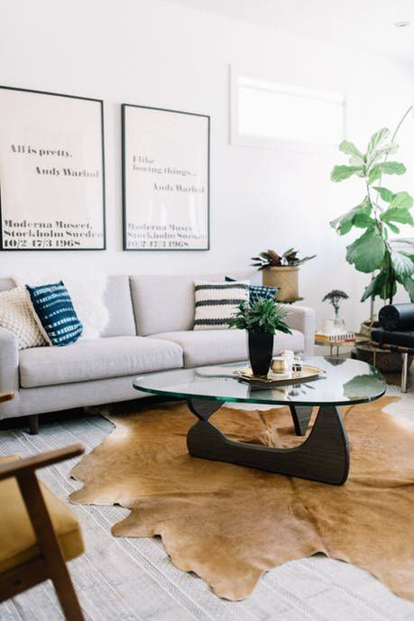 A Couple Blends Their Tastes To Create Polished Home Small Living Room Design Eclectic Mid Century Modern