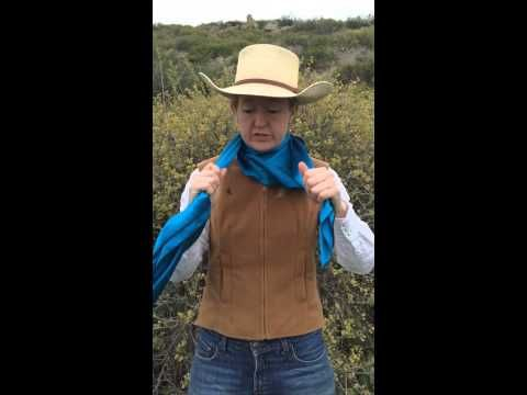 Wild Rags Are Very Popular In The Western Wear World Especially With Working Cow Folks How To Wear A Scarf Ways To Wear A Scarf How To Wear Scarves