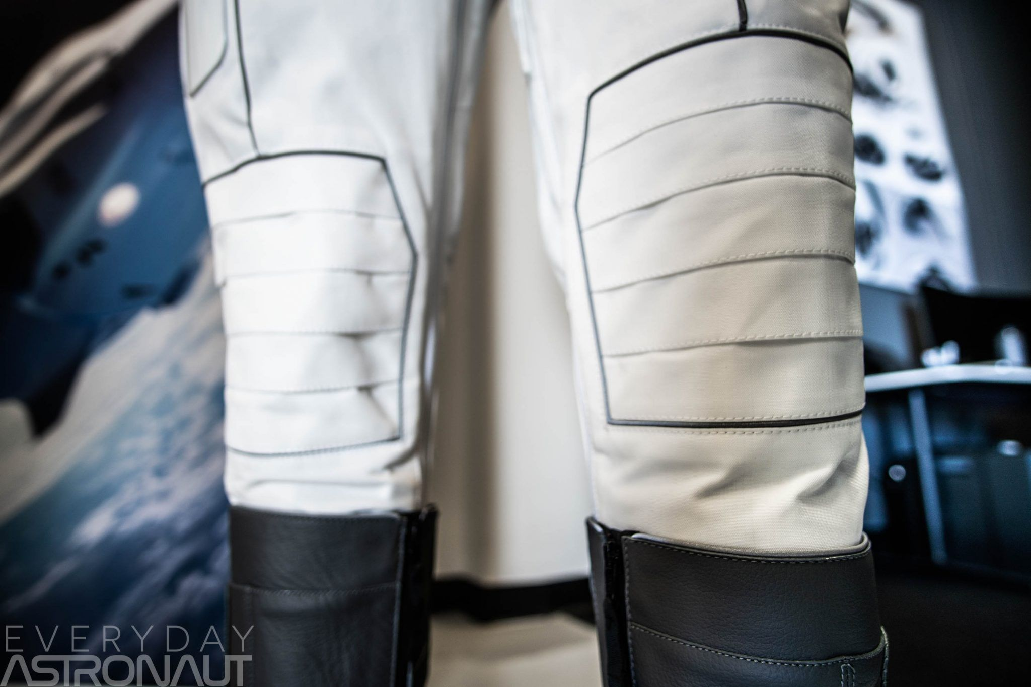 Up close and personal with SpaceX's space suit - Everyday ...