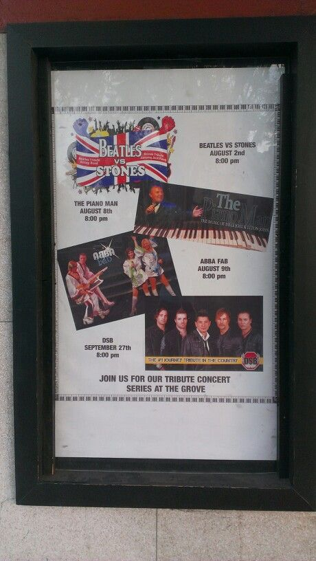 Upcoming shows at the Grove Theatre, Downtown Upland, California. #dtupland 2014