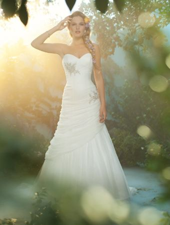 Disney Princess Inspired Wedding Gowns Rapunzel