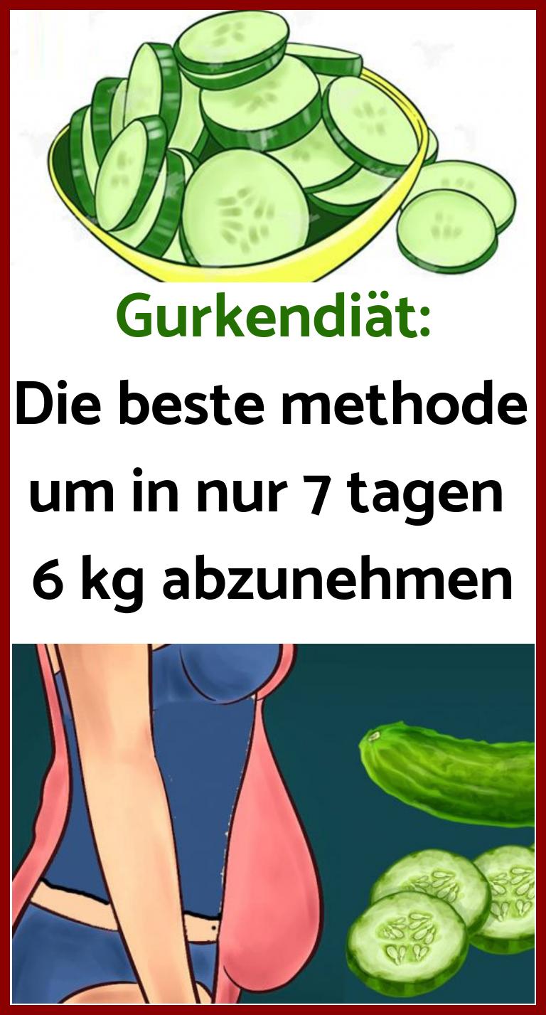 Die Gurkendiät zur Gewichtsreduktion