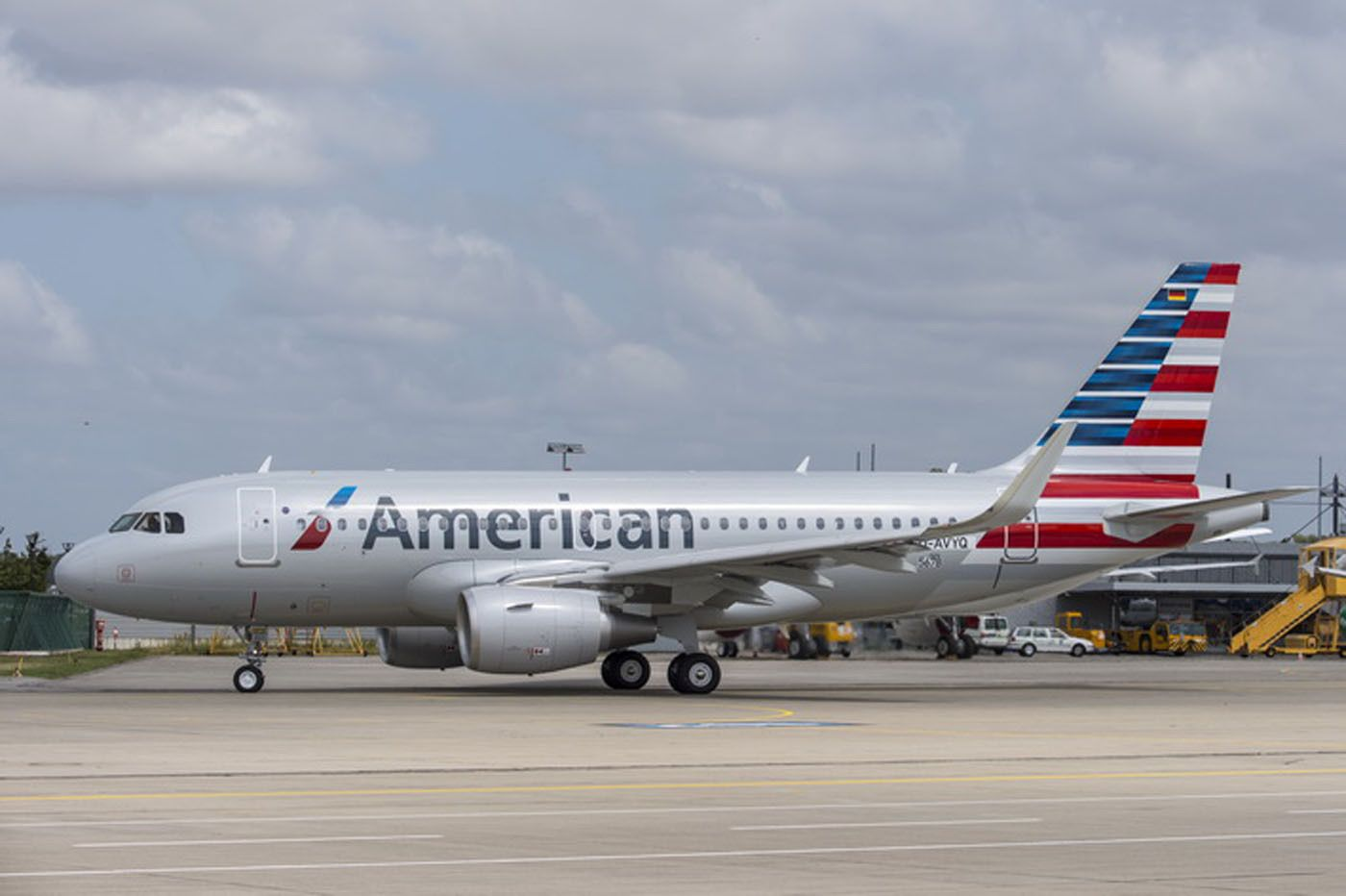 American Airlines received its first Airbus A321  The new