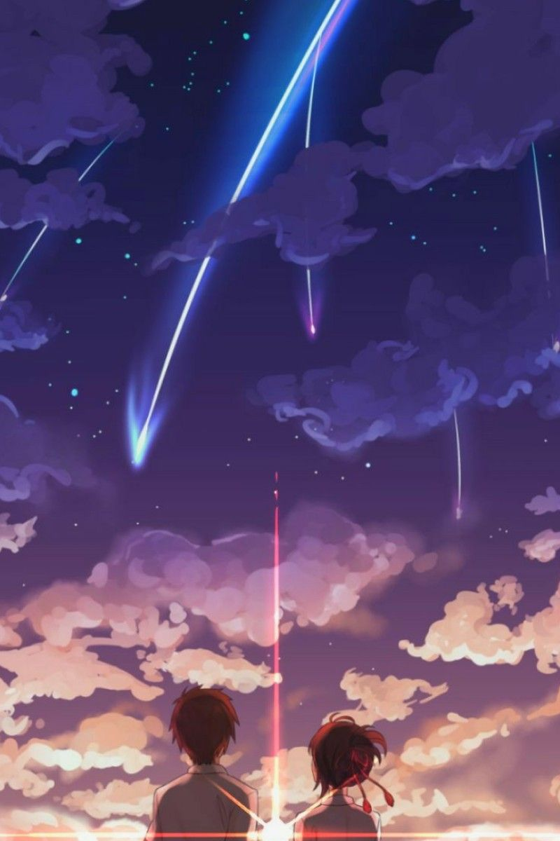 Kiminonawa Yourname Anime Name Wallpaper Your Name Wallpaper Anime Scenery Wallpaper