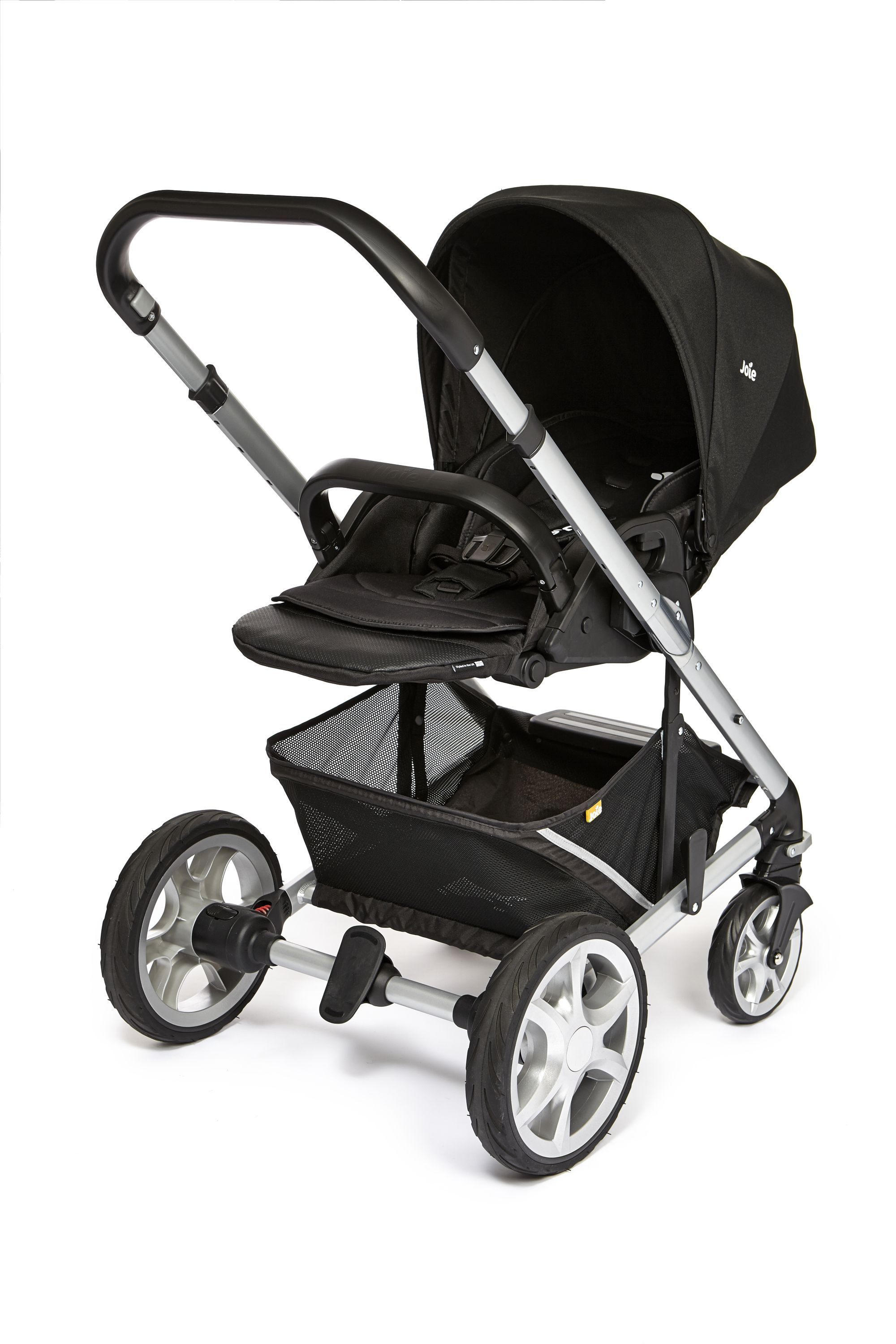 Joie Chrome Plus Colour Pack Black Carbon Pushchair