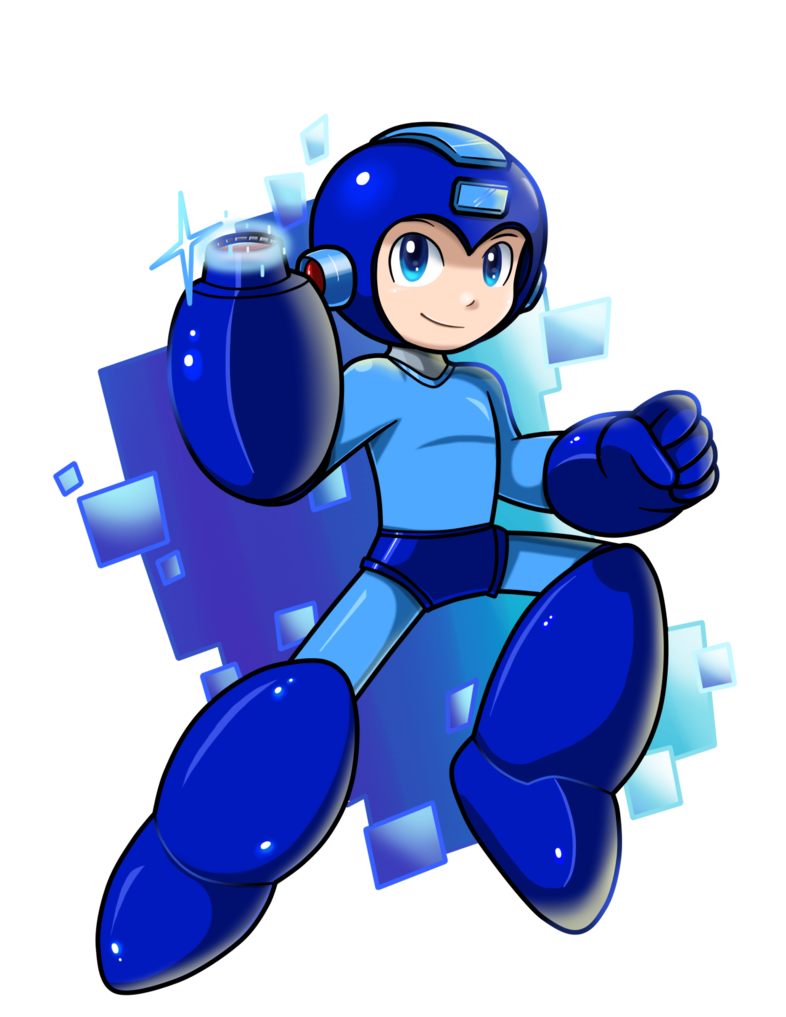 Ready To Rock By Nintendrawer Mega Man Game Character Guy Pictures