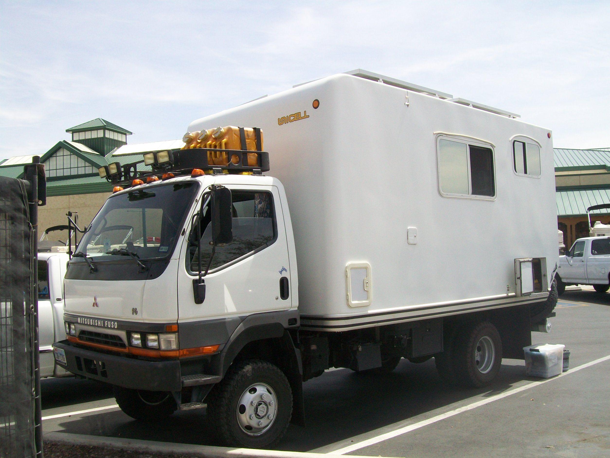 Mitsubishi Fuso Adventure Camper | Canter 4x4 Camper ...