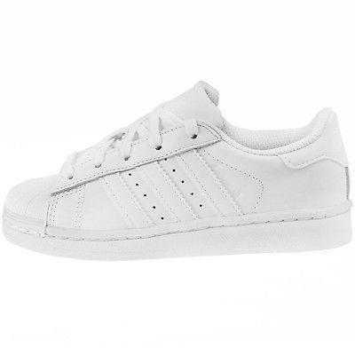 af4741807f Adidas Superstar Foundation Child B23655 White Ps Kids Shell Shoes ...