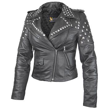 cool studded jacket - on sale
