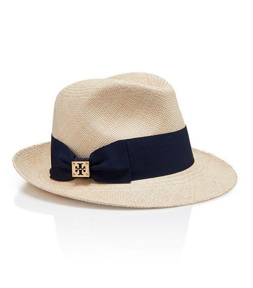 caba1f06ba1 Classic Grosgrain Fedora   Women s Designer Hats
