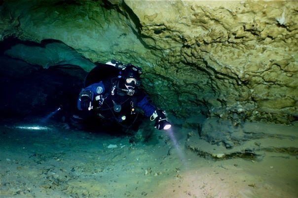 Terri in Tank Cave