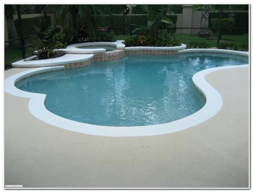 Pool Deck Ideas Paint Color Swimming