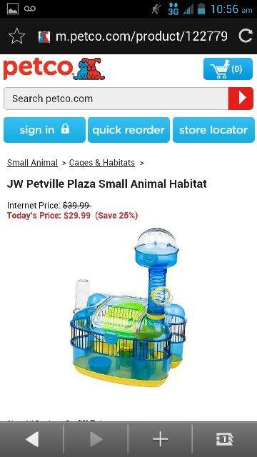 Jw Patvilla Plaza Small Animal Habitat Small Pets Small Animal Cage Animal Habitats