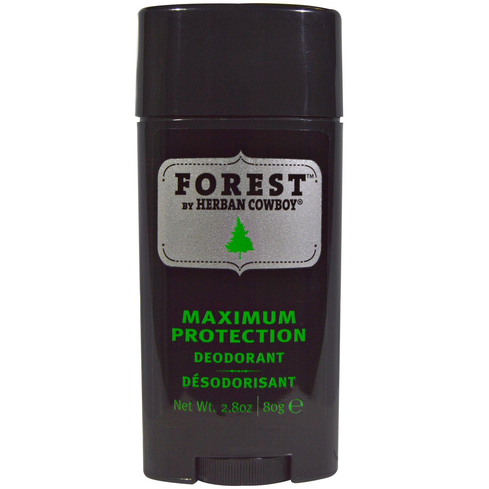 Herban Cowboy, Deodorant, Forest, 2.8 oz (80 g) (With