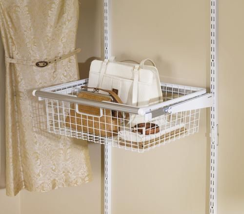 Configurations Sliding Basket At Menards 31 48 With Images Rubbermaid Storage Storage Drawers Rubbermaid