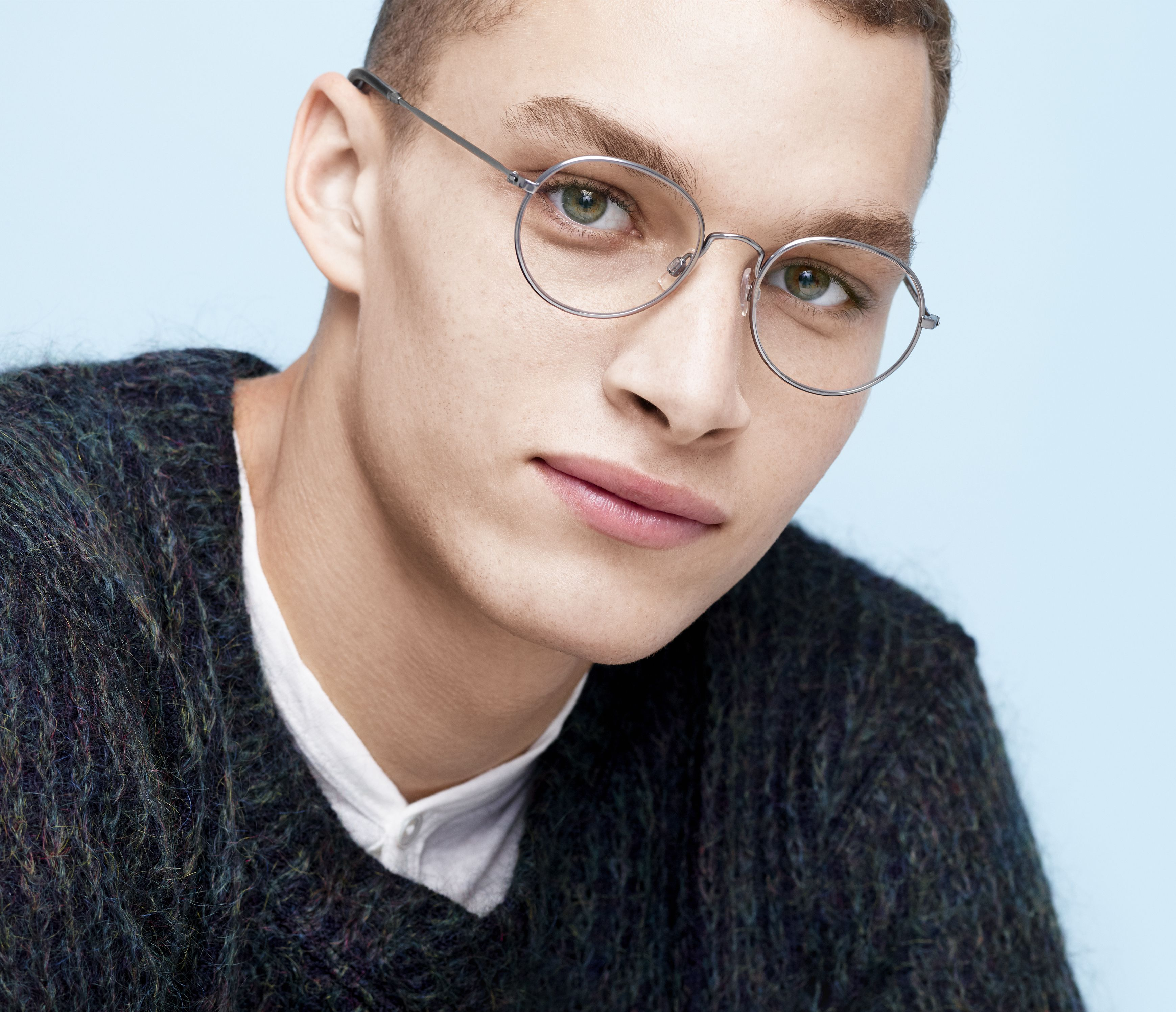 66b362cf04a Abbott in Jet Silver from the Warby Parker Winter 2015 collection ...