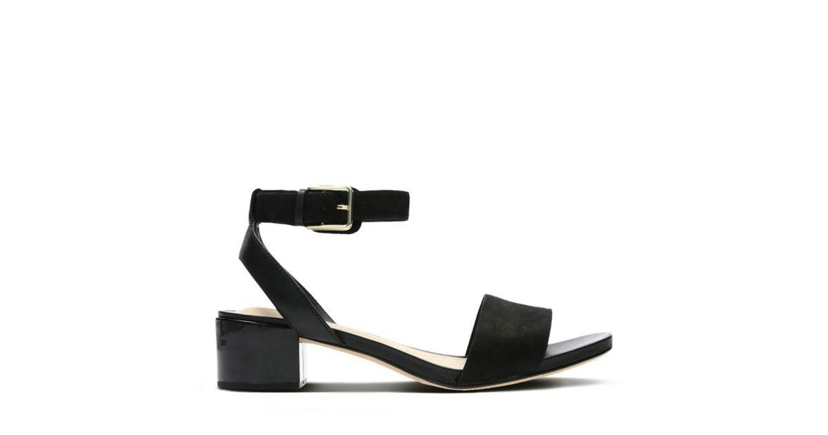 Clarks orabella rose womens shoes black combination 75
