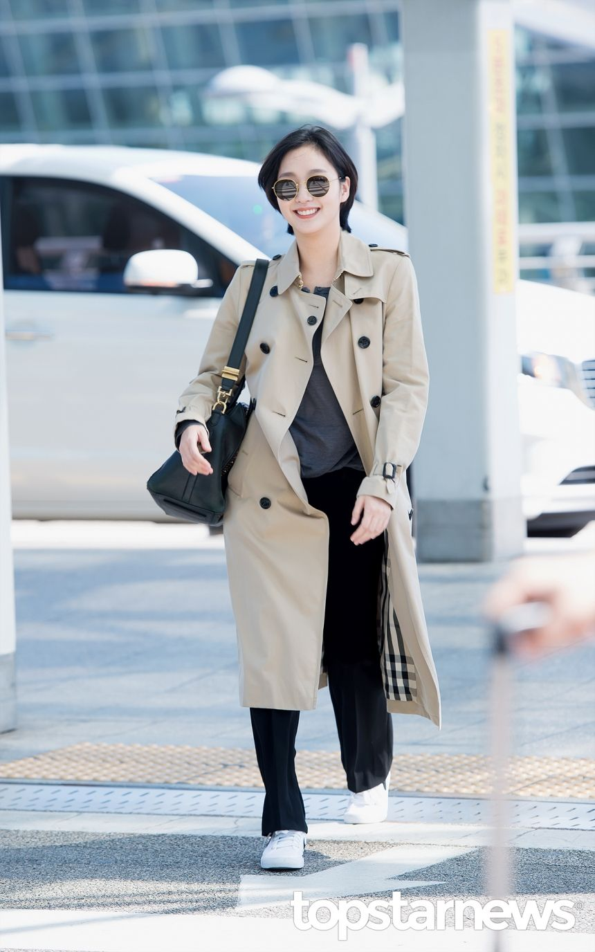 Hd Korean Trench And Celeb Fashion Style