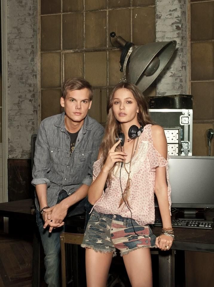 kristina Romanova (Lauren Denim & Supply S/S 13 campaign and Lookbook with AVICII)
