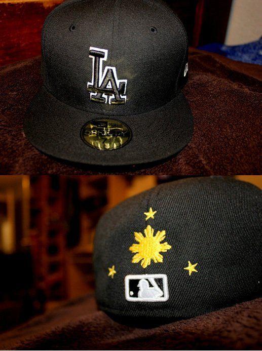 1611ef3b New Era Cap! Los Angeles Dodgers With the Filipino: 3 stars & a sun ...