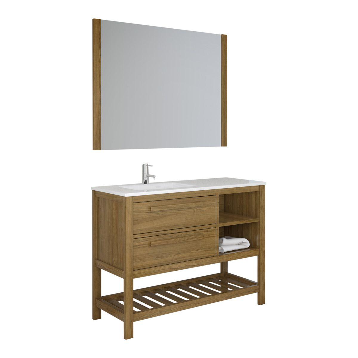 Mueble De Baño Dibath Amazonia 2 Cajones Hogar El Corte Inglés