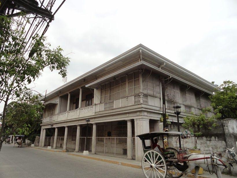 San Fernando Pampanga Spanish Colonial Homes Filipino Architecture Philippine Architecture