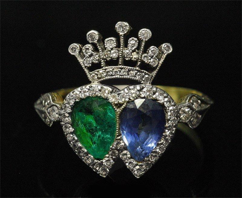 Mid 19th Century Ring Bagues Anciennes 19e Siecle Bague