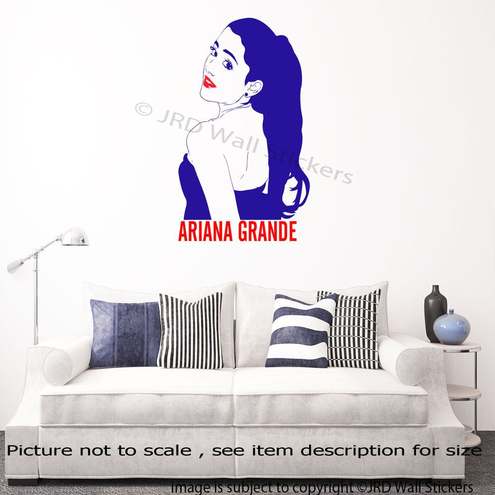 Details About Ariana Grande Wall Decal Removable Vinyl Wall - Vinyl wall decals removable