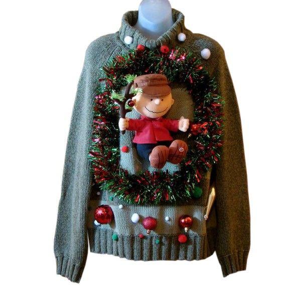 A Charlie Brown Christmas Ugly Christmas Sweater - Talking Charlie ...