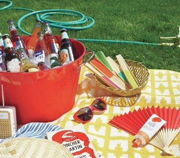 16 Tips for an Effortless Outdoor Party is part of Outdoor Party Clothes - Here's how to create a backyard oasis where the revelers are satiated and no one gets eaten alive