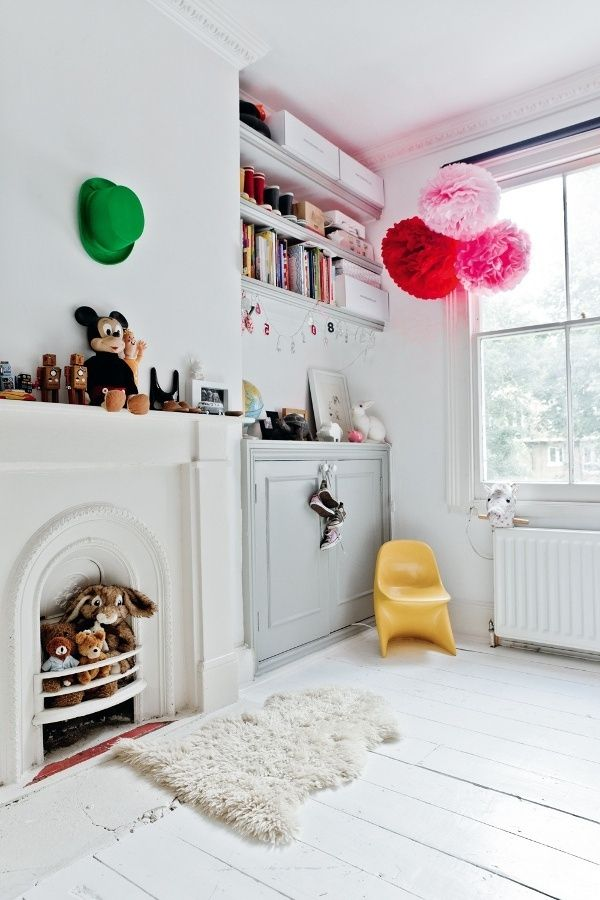 Kinderzimmer gestalten - kreative Ideen in Farbe Pauline - kinderzimmer kreativ gestalten ideen