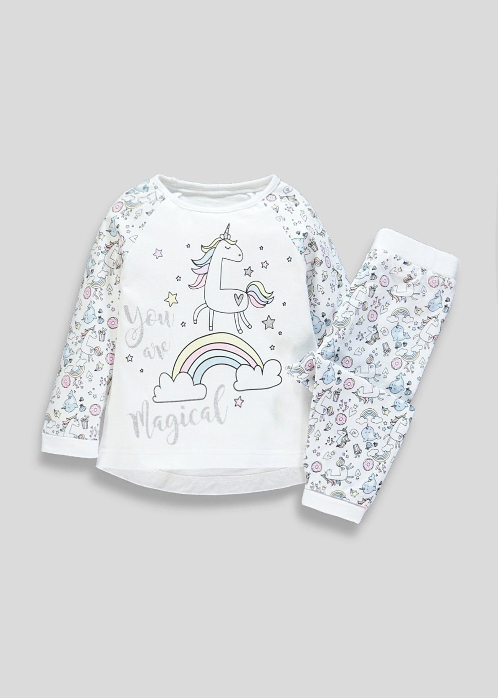 8d15c01cb127 Kids Unicorn Pyjama Set (9mths-5yrs) | Lola Christmas | Pajama set ...