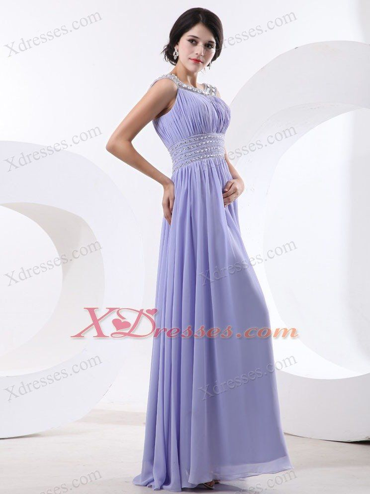 Beaded-Decorate-Bateau-and-Waist-For-Lilac-Prom-Dress-With-Floor ...