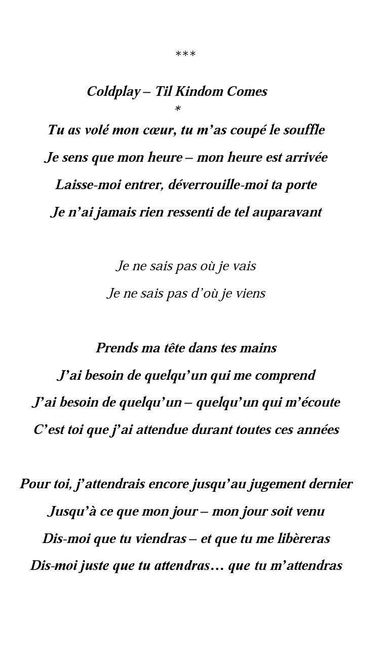 Parole De Je Ne Dirais Rien : parole, dirais, Épinglé, Khadidja, Citations, Parole, Musique,, Parole,, Citation
